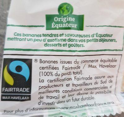 Bananes - Ingrédients