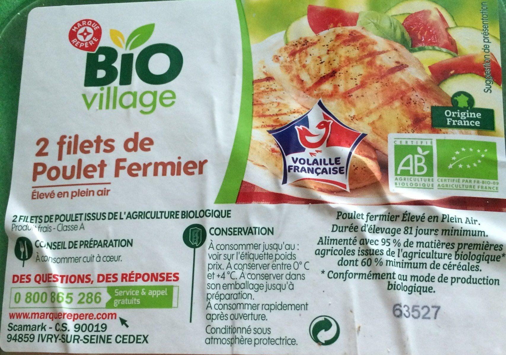 filets de poulet fermier - Product - fr
