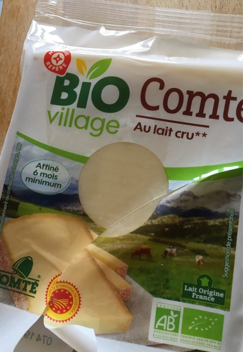 Comté Bio - Produit - fr