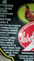 Filet fermier de poulets jaunes - Ingrediënten - fr