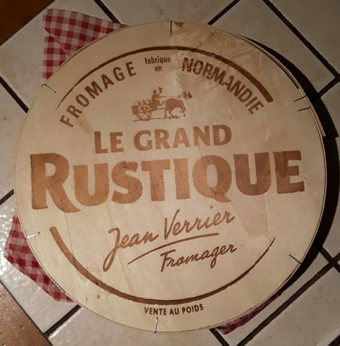 le grand rustique - Ingrediënten - fr