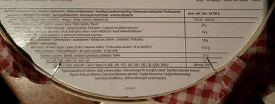 le grand rustique - Ingredients