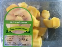 Mangue pret a deguster - Ingrédients - fr