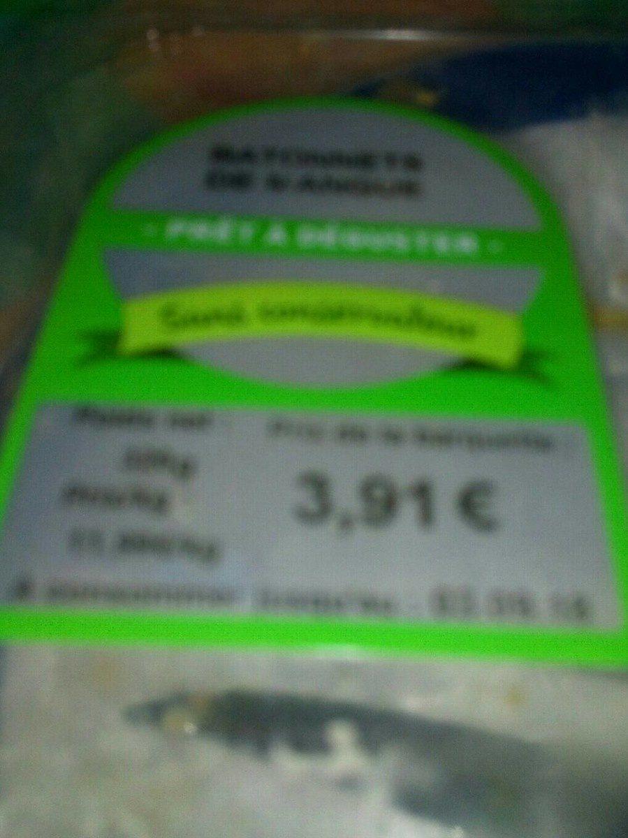 Bâtonnets mangue - Produit - fr