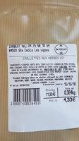 caillette - Ingrediënten - fr