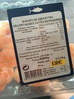 Crevettes - Produit