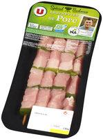 Brochette de porc marinée méditerranée, - Produit