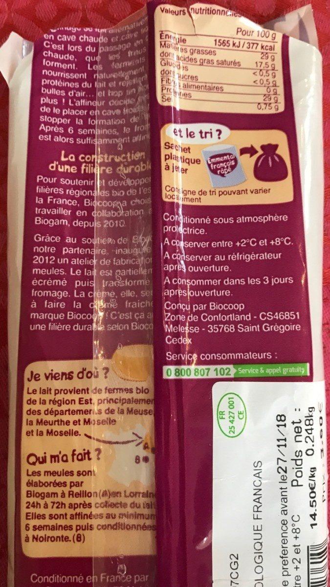Emmental français - Ingrédients - fr