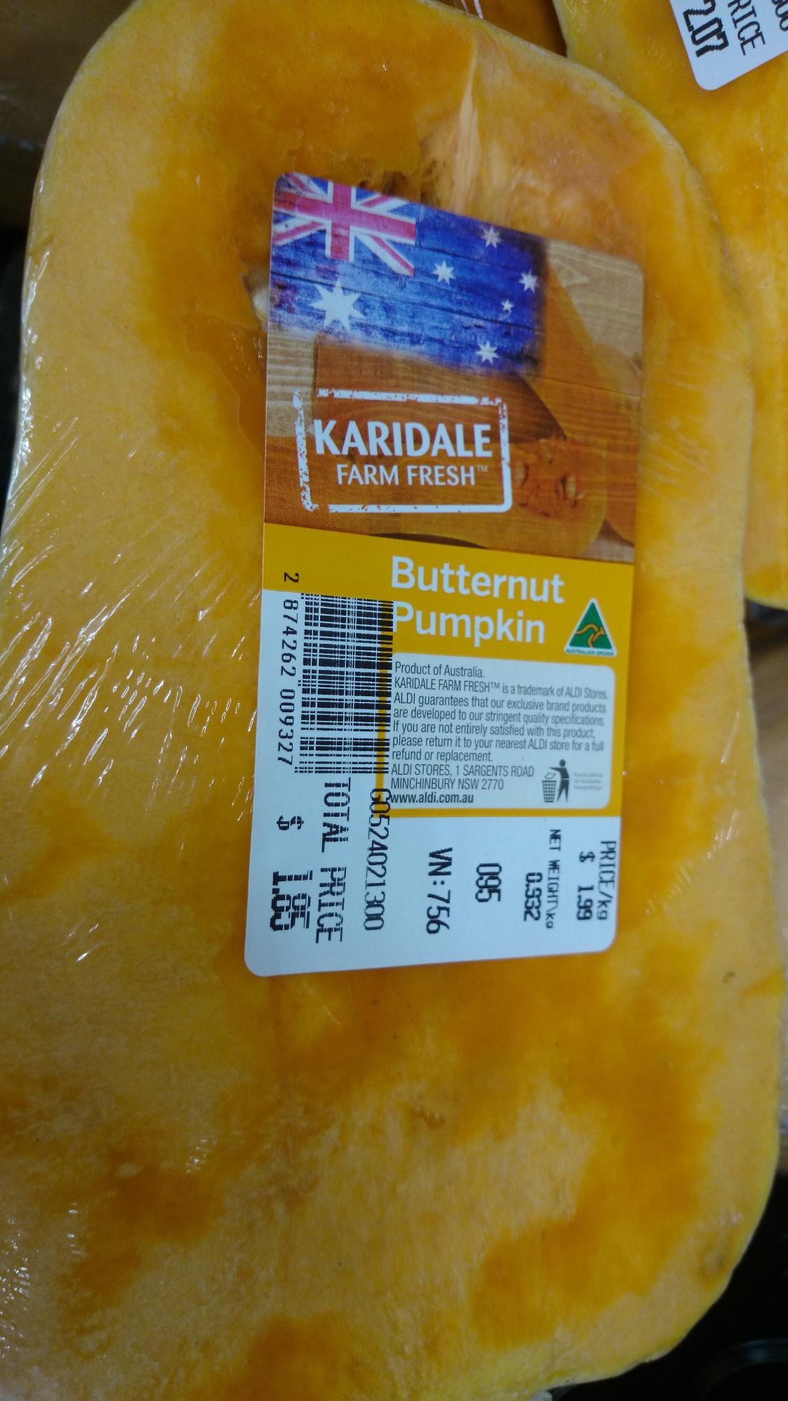 Butternut Pumpkin - Produit - en