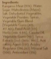 Herb and Garlic Kangaroo Steak - Ingredients - en