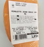 Mimolette Jeune Boule 24% MG - Product
