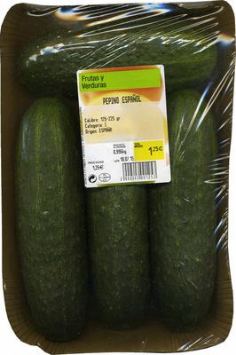 Pepinos tipo español - Produit
