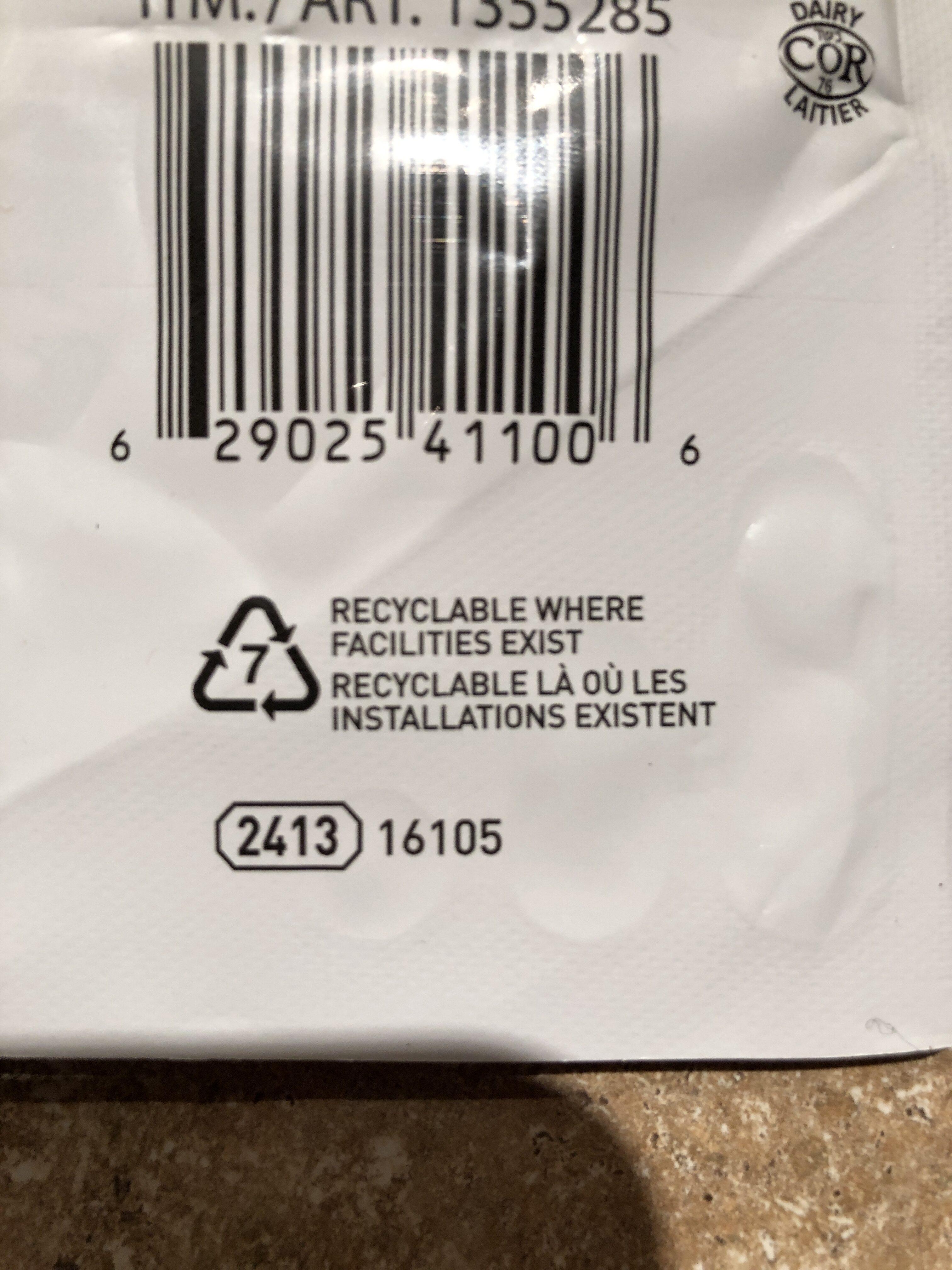 Iögo püre - Instruction de recyclage et/ou informations d'emballage - fr