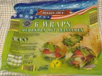 6 Wraps Mehrkorn mit Leinsamen - Produit