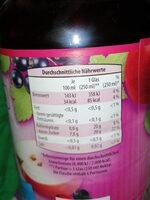 4-fach nektar - Voedingswaarden - de