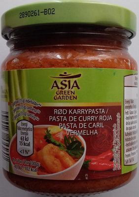 Pasta de curry roja - Product - es