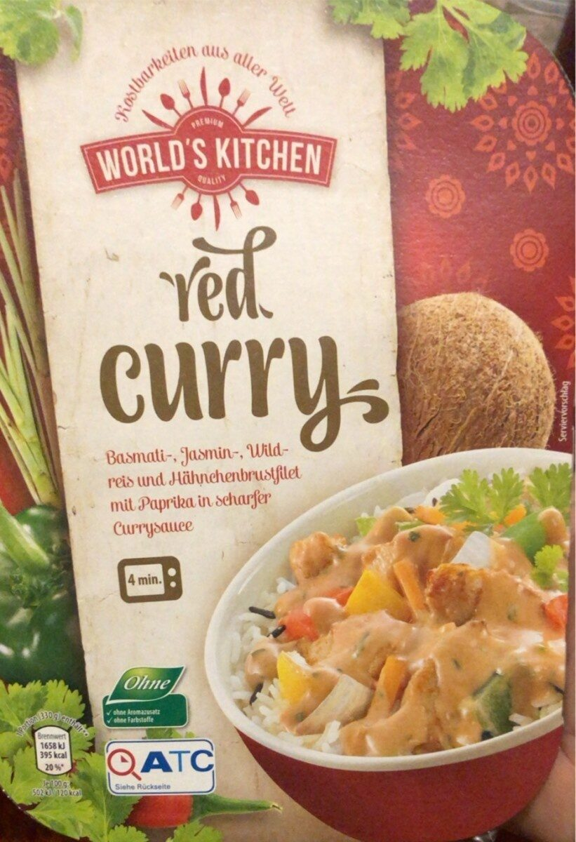 Worlds Kitchen, Red Curry - Product - de
