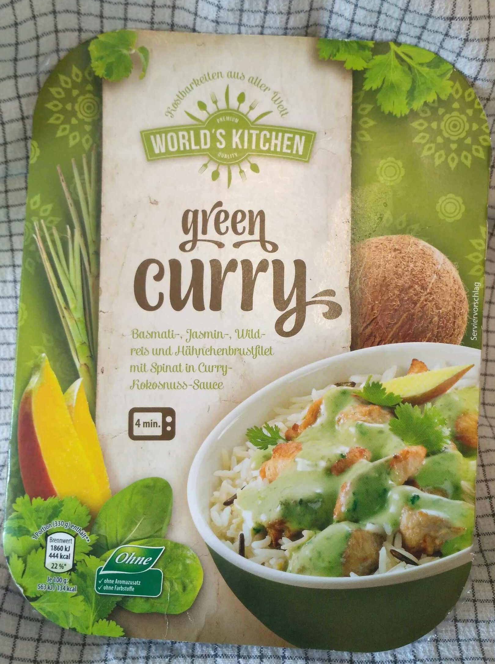 Green curry - Product - de