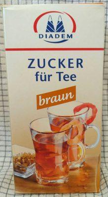 Zucker für Tee braun - Product