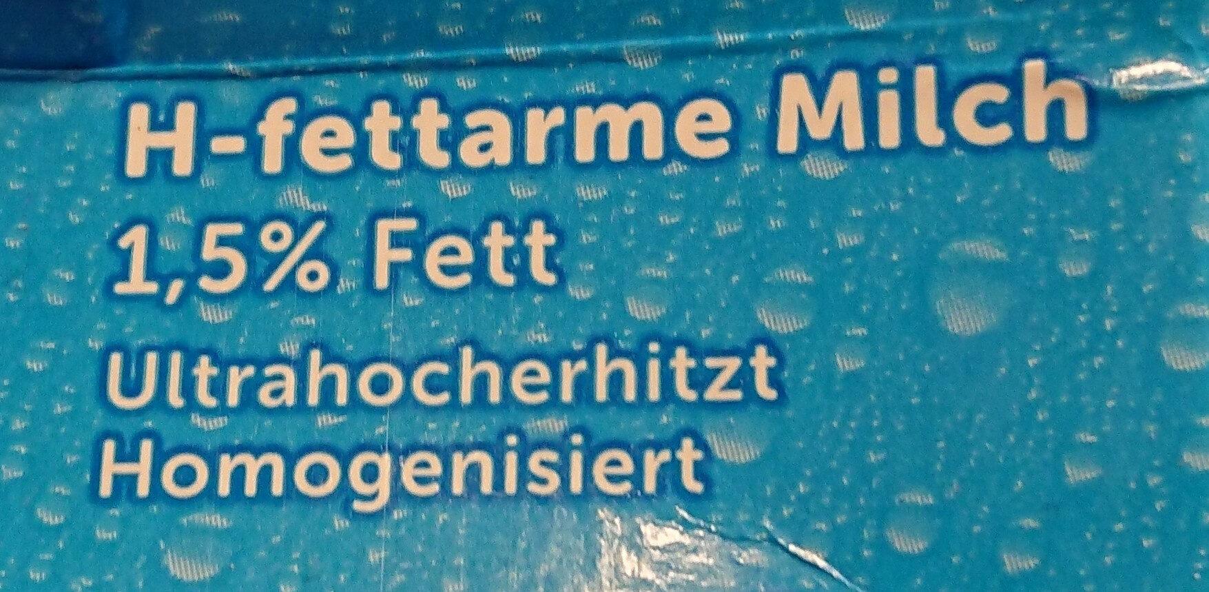 H-Milch - Zutaten - de
