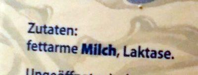 Fettarme H-Milch Laktosefrei - Inhaltsstoffe