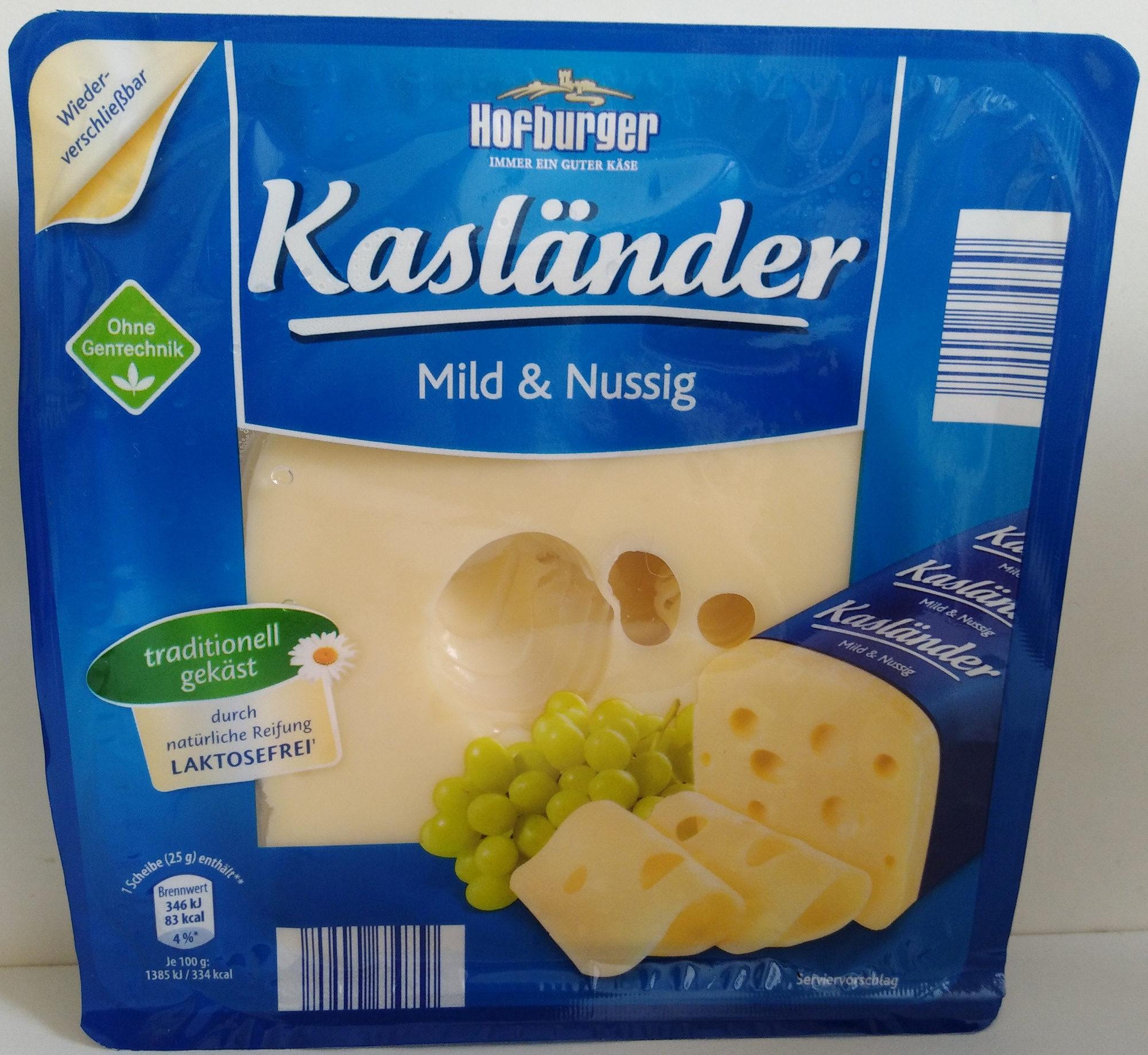 Kasländer Mild & Nussig — Hofburger — 200 g