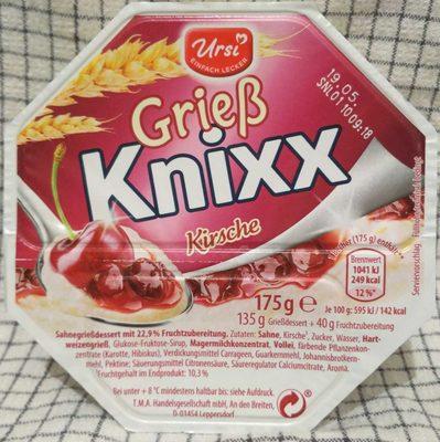 Grieß Knixx Kirsche - Product - de