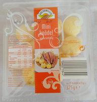 Mini Knödel aus Kartoffelteig - Produkt