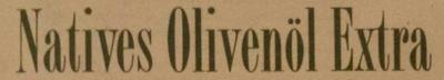 Olivenöl nativ extra - Inhaltsstoffe