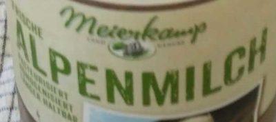 Alpenmilch - Inhaltsstoffe