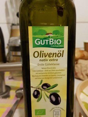 Gutbio Olivenöl Nativ Extra - Product - de
