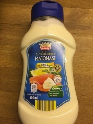 Mayonnaise - Produit - xx