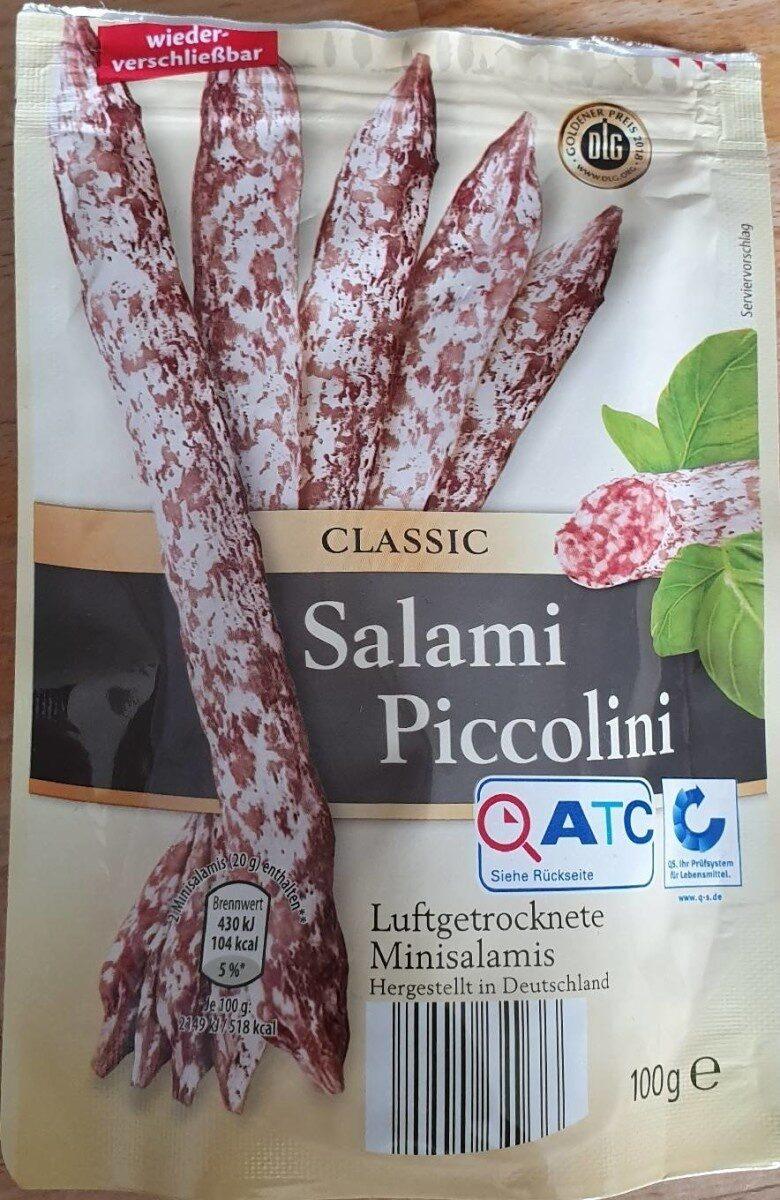 Salami Piccolini, Pikant - Produit - fr