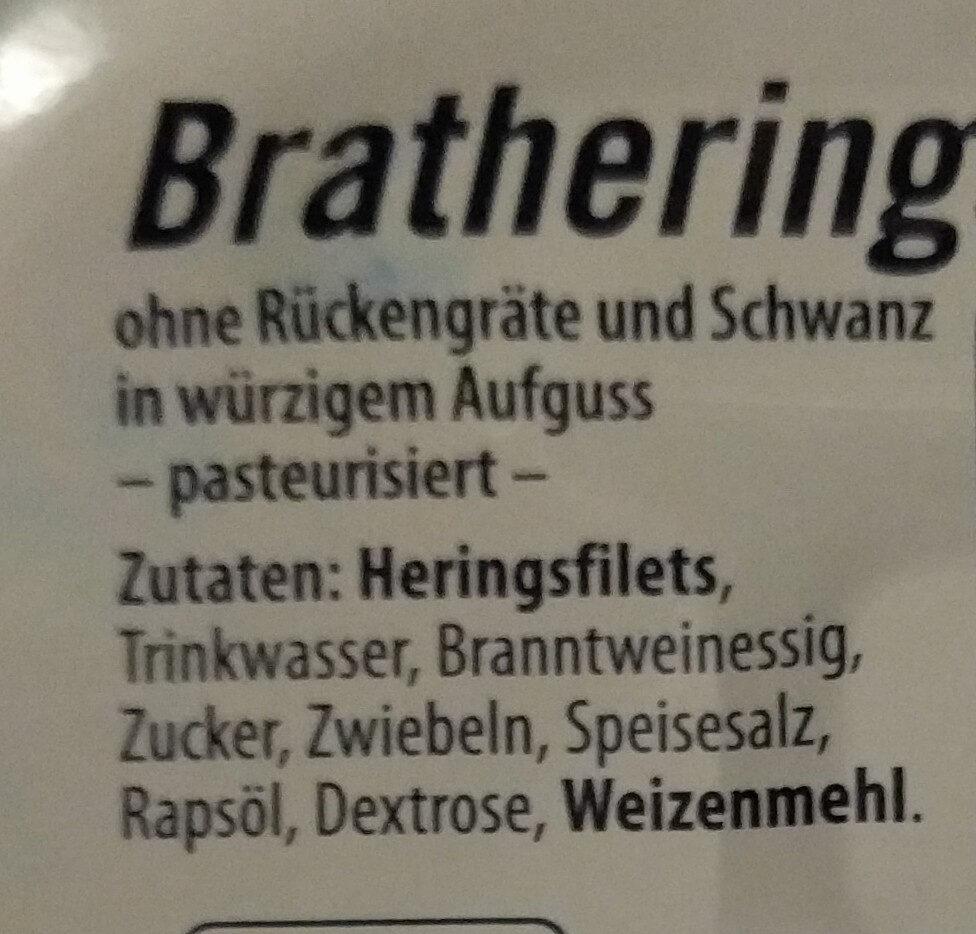 BratheringesFilets - Ingrédients - de