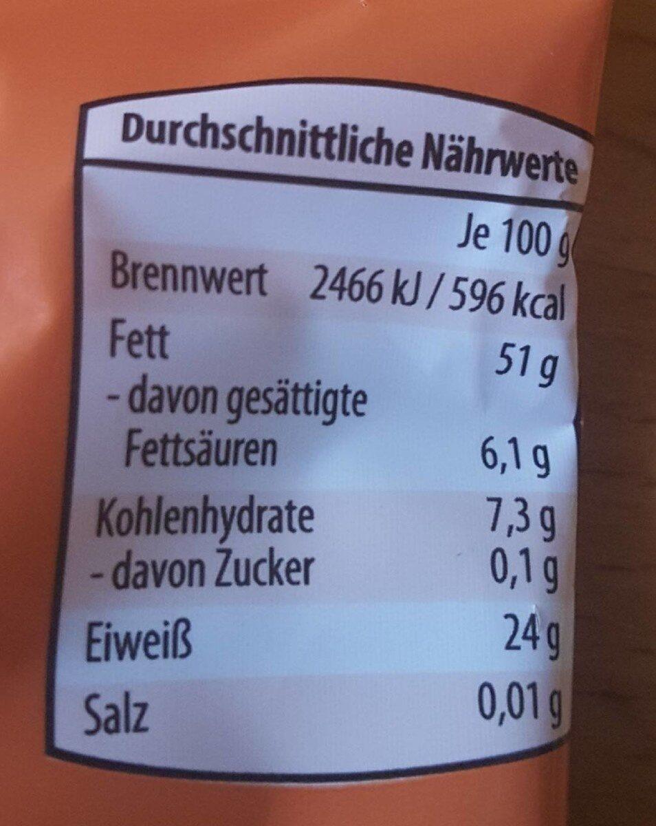 Pinienkerne naturbelassen - Valori nutrizionali - de