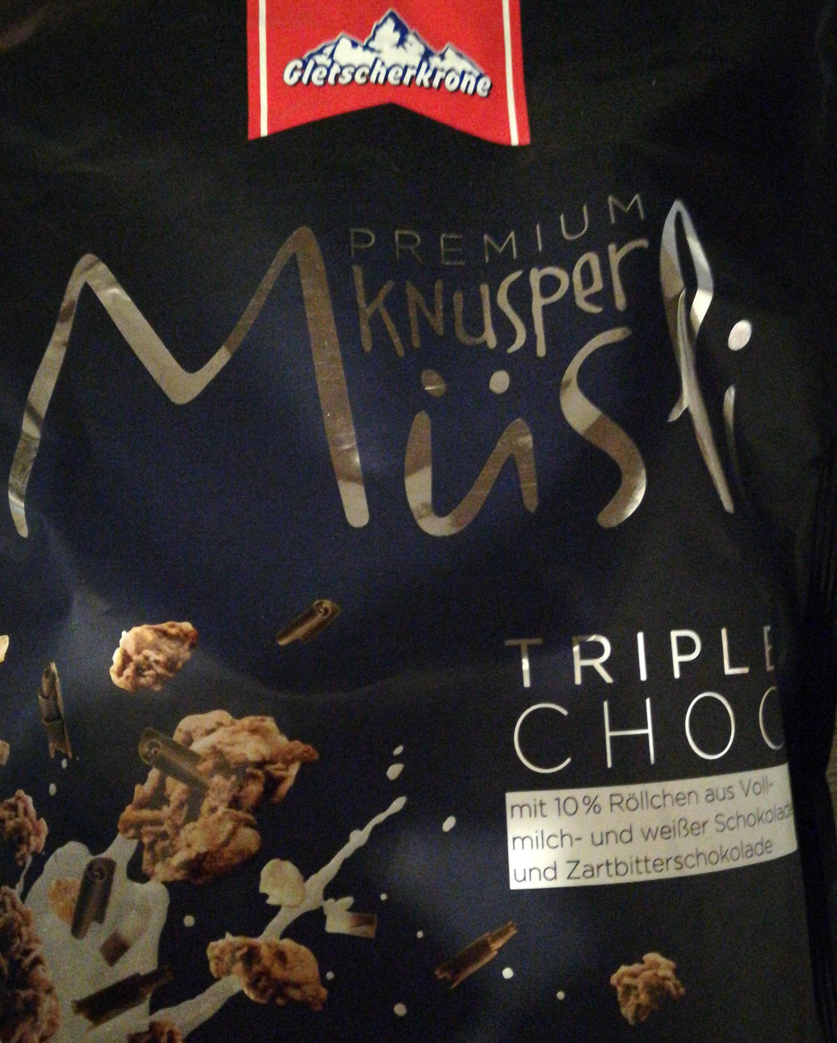 Premium Knusper Müsli, Honig & Nüsse - Produkt - de