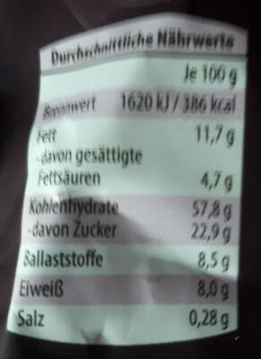 Premium Knusper Müsli, Honig & Nüsse - Zutaten - de