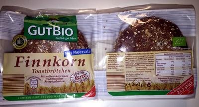 Finnkorn Toastbrötchen - Product