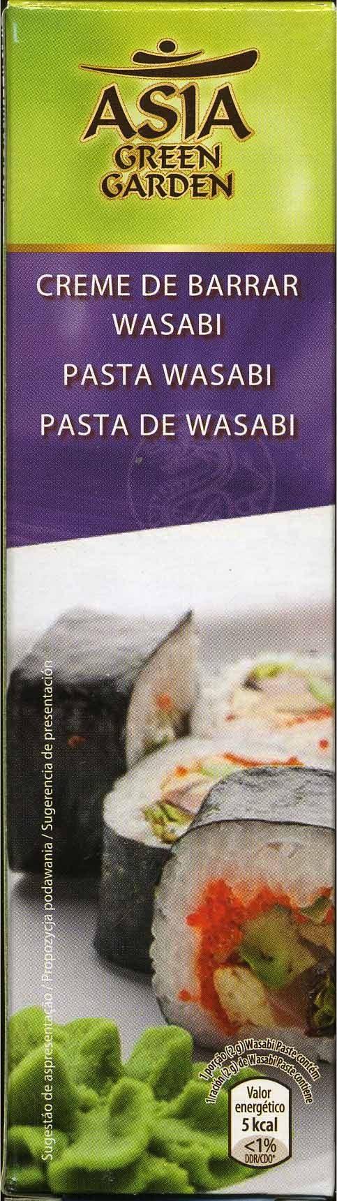 Pasta Wasabi - Producto