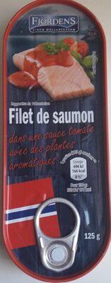 Filet de saumon dans une sauce au miel et à la moutarde - Produit - fr