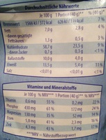 Köstlich-zarte Vollkorn-Haferflocken - Ingredients - de