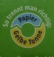 Kartoffelpüree 6 x 3 trockenprodukt, kartoffel - Instruction de recyclage et/ou informations d'emballage - de