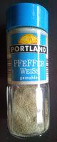 Pfeffer Weiss - Ingredients