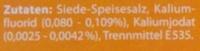 Jod-Salz - Ingrediënten