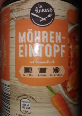 Möhreneintopf Mit Schweinefleisch - Produit - de