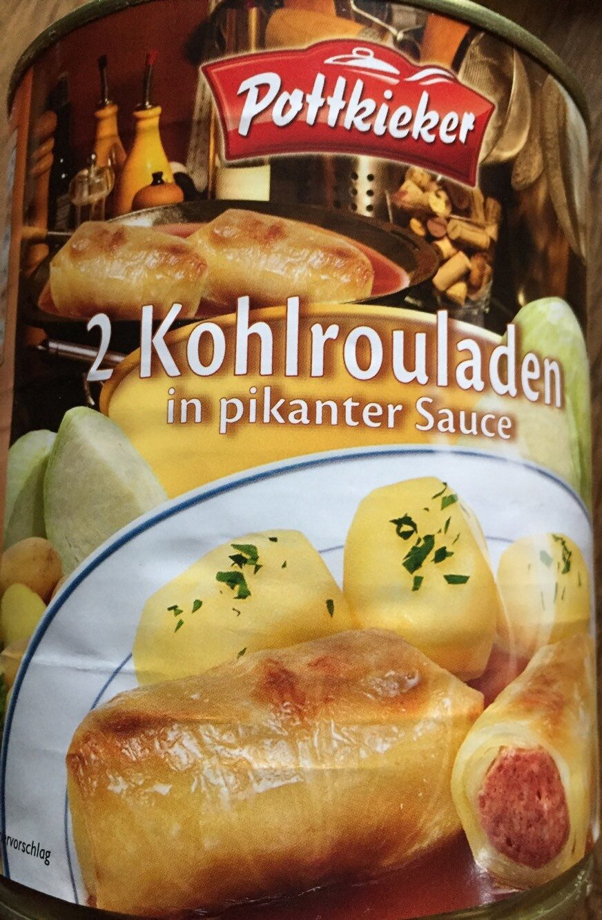 2 Kohlrouladen in pikanter Sauce - Produkt - de