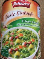 Erbsen-Eintopf - Produkt