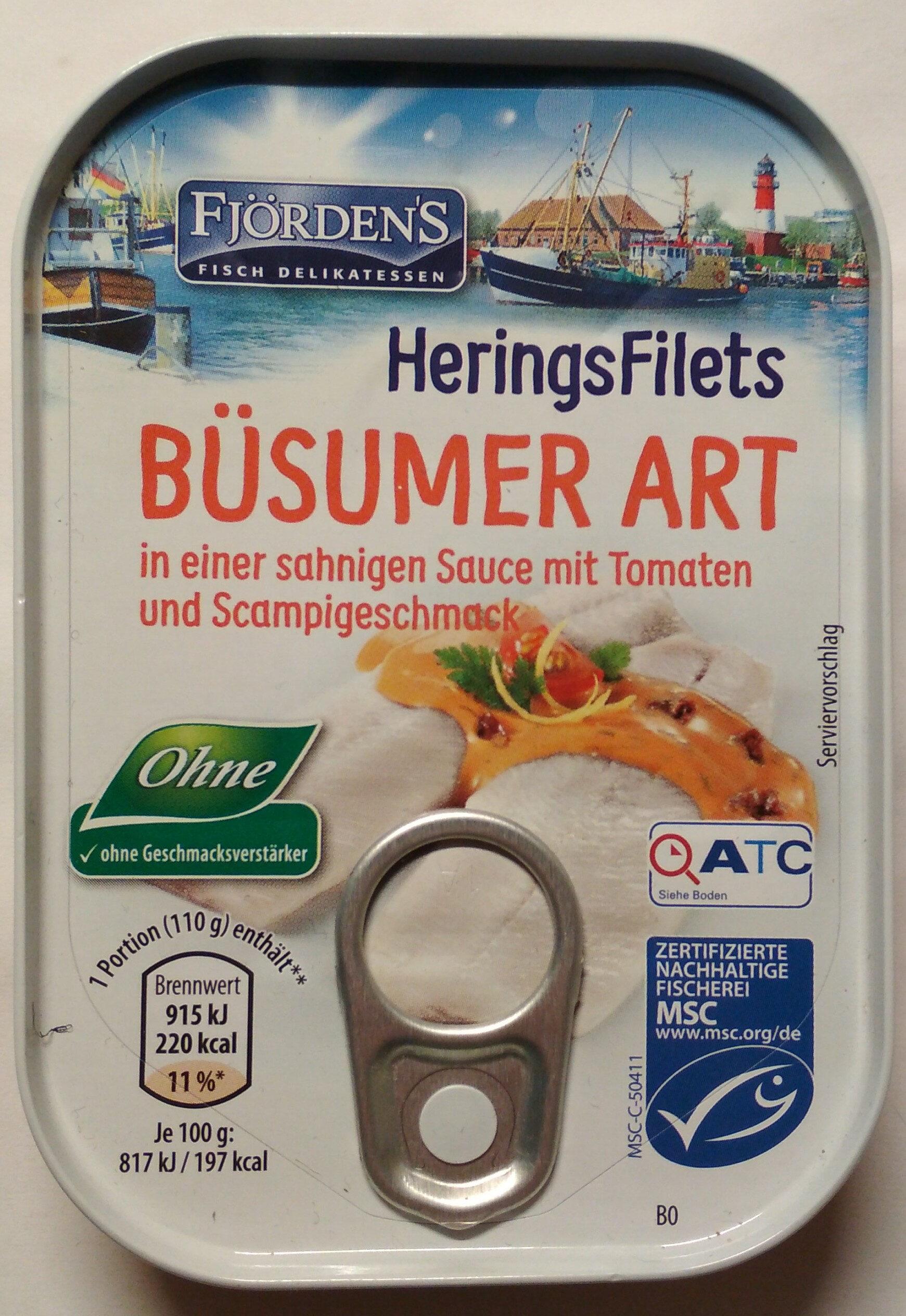 Heringsfilets Büsumer Art - Prodotto - de