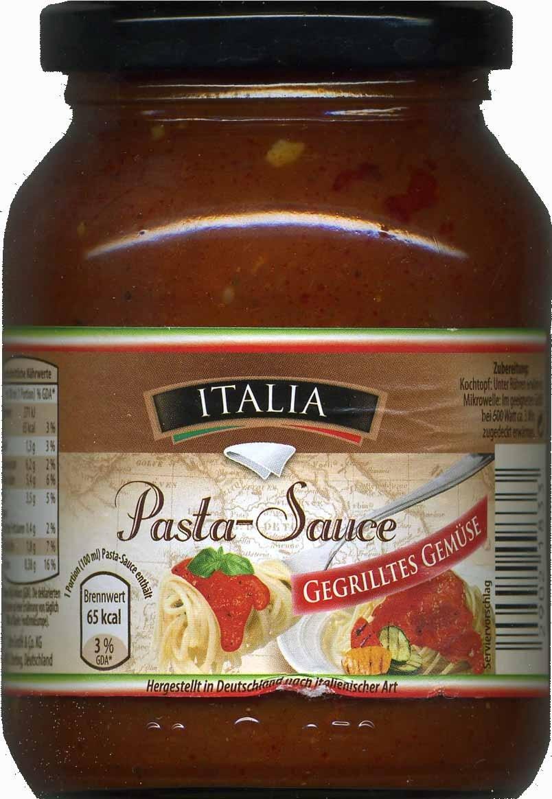 Pasta-Sauce Gegrilltes Gemüse - Produkt