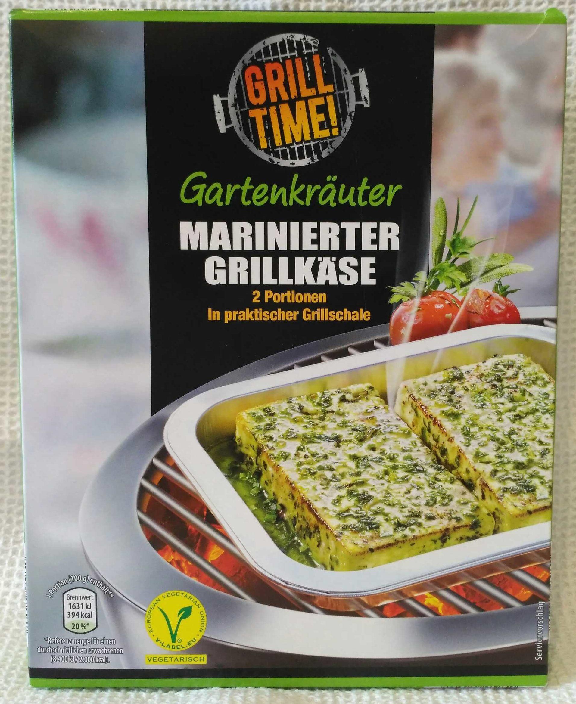 Gartenkräuter marinierter Grillkäse - Produkt